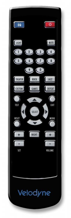 Velodyne DD Plus Remote